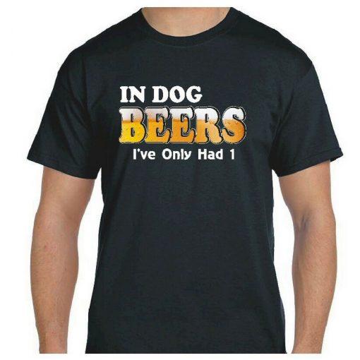 dog years beer tshirt